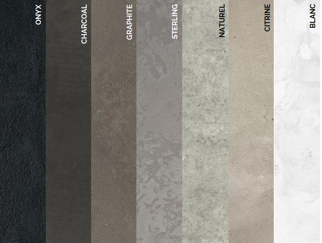 lhv design cemento revetement beton foyer cinema maison mur épaisseur dimensions couleurs