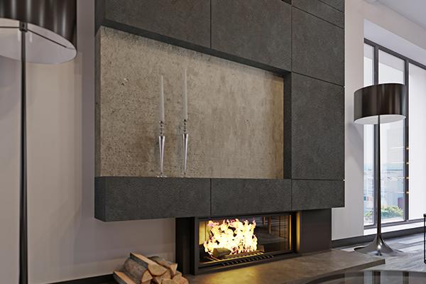 lhv design cemento revetement beton foyer