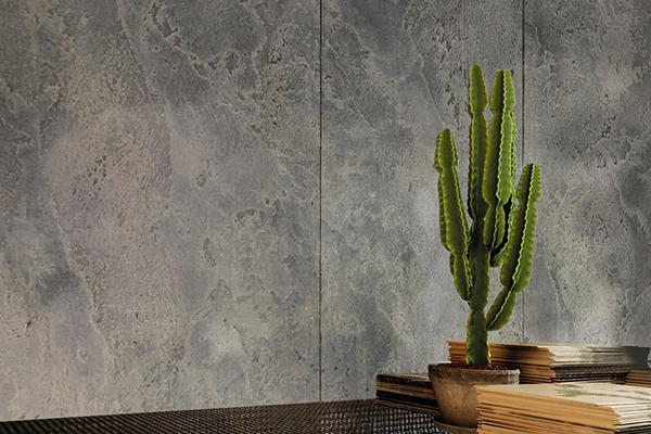 lhv design cemento revetement beton foyer cinema maison